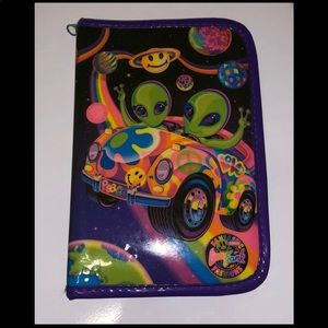 Lisa Frank Zoomer&Zorbit Mini Binder